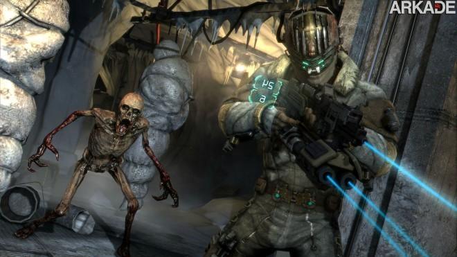 DO5n81 Necromorphs invadem as novas imagens de Dead Space 3