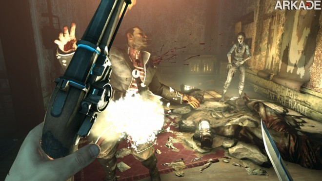 Dishonored E3 71 Confira o sangrento novo trailer de gameplay de Dishonored