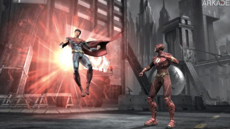 Injustice Gods Among Us 2012 06 01 12 0071 Injustice: veja 15 minutos de gameplay do jogo de luta com heróis e vilões da DC