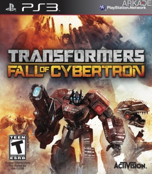 Transformers Fall of Cybertron 2012 07 05 12 0011  Transformers Fall of Cybertron: veja o novo trailer e a capa do jogo