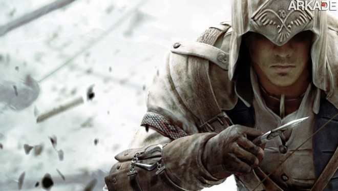 Xxl Assassins Creed 3 Connor Hero 6241 Assassins Creed: produtor afirma ter bom material para um game da série no Brasil!
