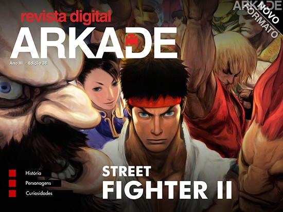 c38 Revista Arkade #38   Street Fighter II