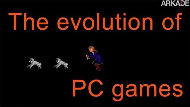 evogames 000411 Vídeo nostálgico cria música para mostrar a evolução dos jogos de PC