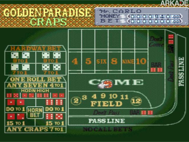 Clássicos - Vegas Stakes: testando sua sorte em cassinos de 16 bits