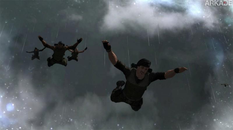 original1 Os Mercenários 2: muita ação no primeiro trailer oficial do game