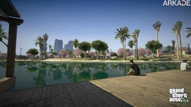 Rockstar libera primeiras imagens de GTA V