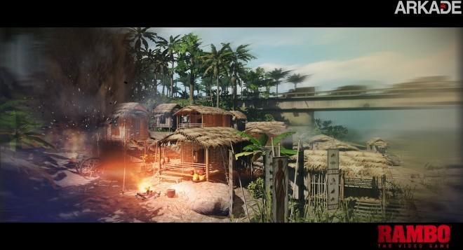 Rambo: The Videogame ganha teaser-trailer e primeiras imagens