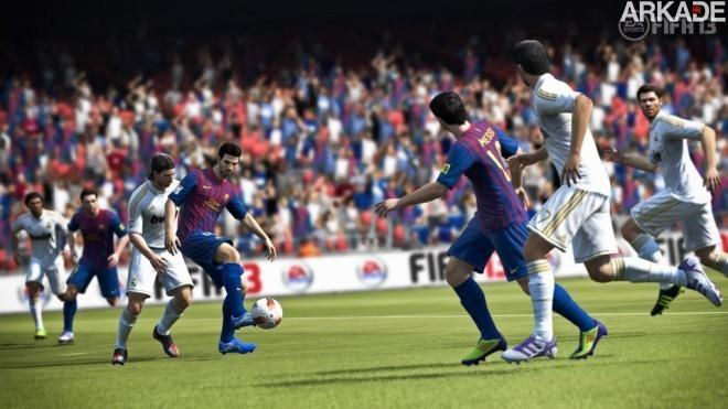 Novo trailer de FIFA 13 apresenta modos de jogo