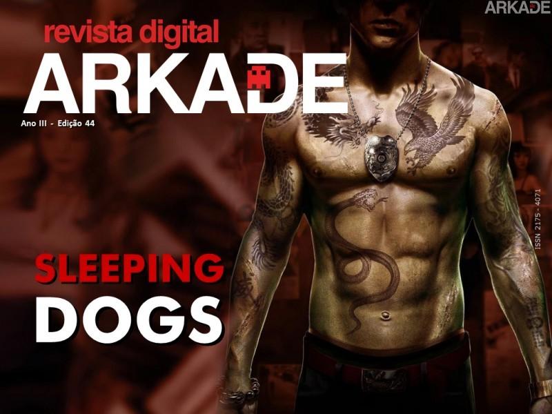 Revista Arkade #44 - Sleeping Dogs