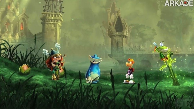 Rayman Legends1 Novo trailer de Rayman Legends entrega: game será exclusivo para o Wii U