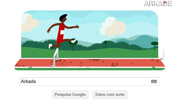 arkade google Jogue agora o mini game de corrida do Google estilo Decathlon!