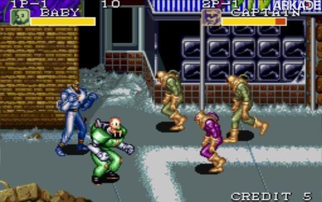 capbabycmd Clássicos   Captain Commando: um beat em up com bebês, ninjas e múmias