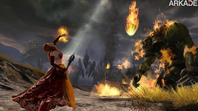 elementalist meteor shower1 Guild Wars 2: testamos e separamos 9 motivos para você jogar!