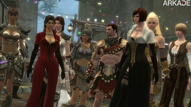 human 031 Guild Wars 2: testamos e separamos 9 motivos para você jogar!