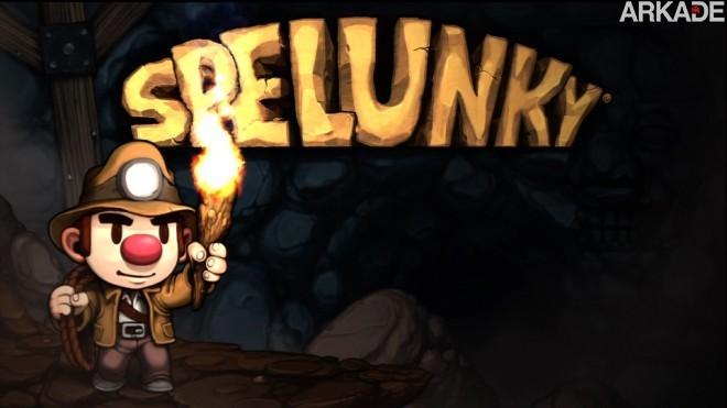 spelunky031 Jogue o divertido Spelunky em HTML5 diretamente pelo seu browser