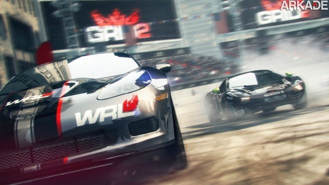Codemasters anuncia Grid 2 com belo trailer