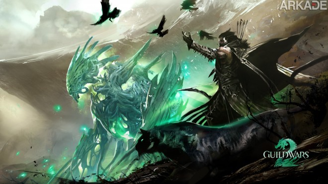Belo wallpaper do Ranger de Guild Wars 2 em Full HD