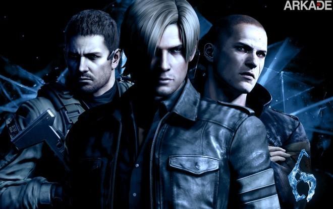 Outubro começa com Resident Evil 6, NBA 2K13 e clássicos do Dreamcast