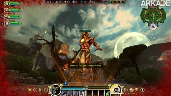 Smite (PC) - Um game que mistura Dota, League of Legends e o PvP de World of Warcraft!