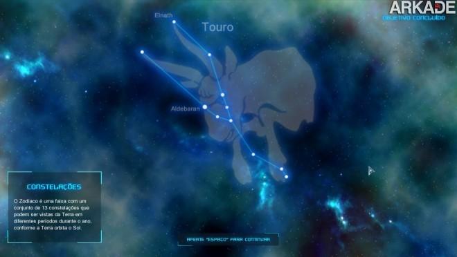 constelacoes Kosmoz: game brasileiro ensina astronomia de forma lúdica e divertida