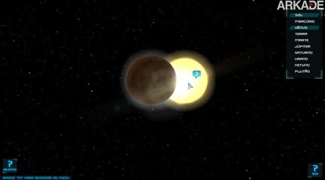 sistemasolar Kosmoz: game brasileiro ensina astronomia de forma lúdica e divertida
