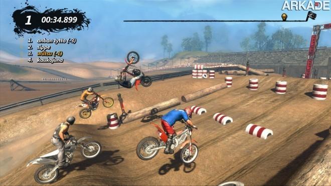 Trials Evolution será lançado para PCs com muitos extras