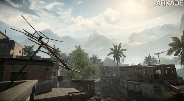 Warface: novo FPS da Crytek terá mapa em favela brasileira, veja o trailer