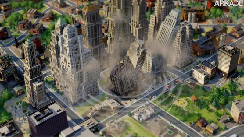 Catástrofes e destruição em novo trailer de Sim City