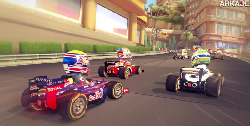 F1 Race Stars: veja o gameplay do jogo que mistura kart com Formula 1