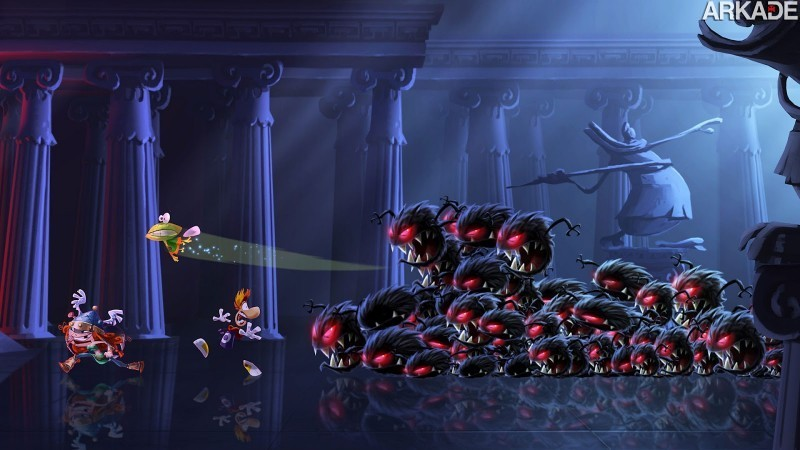 Rayman Legends: novo trailer mostra gameplay cooperativo com 5 jogadores