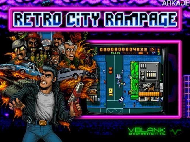 Retro City Rampage: nostalgia e participações especiais em novo trailer