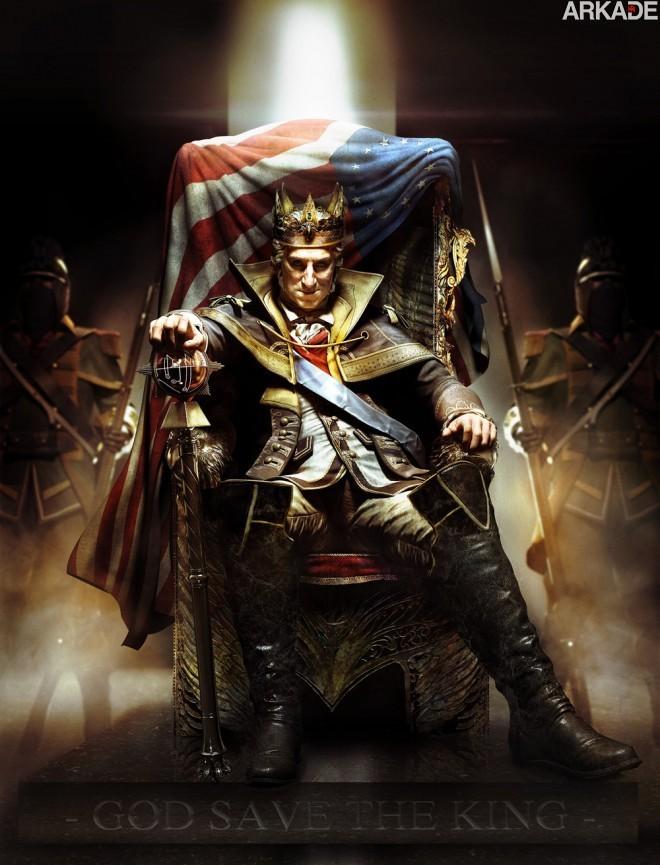 Assassin's Creed III: novo trailer apresenta a história do protagonista Connor
