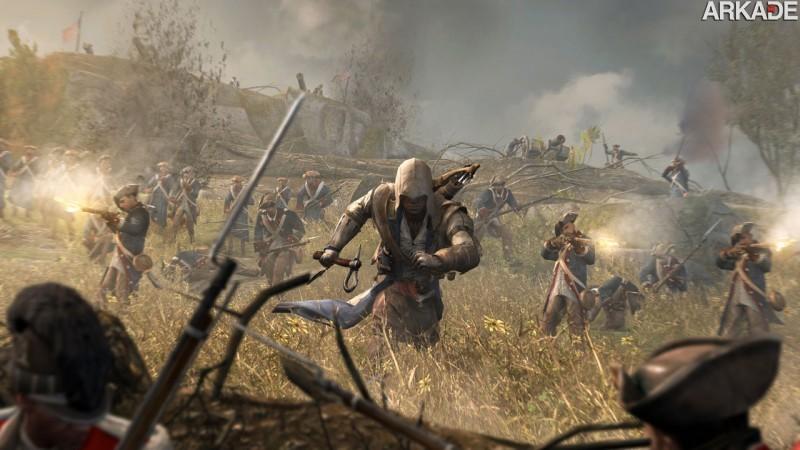 """""""Jogue"""" agora o novo trailer interativo de Assassin's Creed III"""
