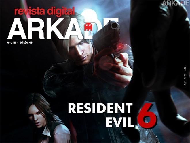 Revista Arkade #49 - Resident Evil 6! Zumbis para todos os gostos!