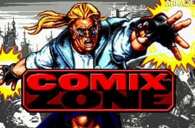 comix cover Clássicos   Comix Zone: uma aventura em quadrinhos de 16 bits