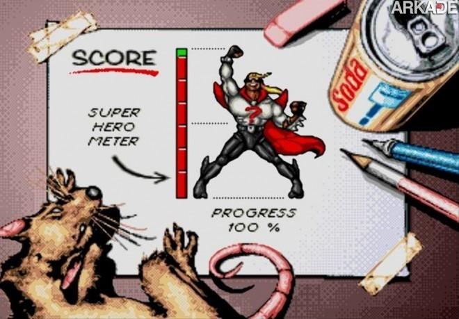 comix Clássicos   Comix Zone: uma aventura em quadrinhos de 16 bits