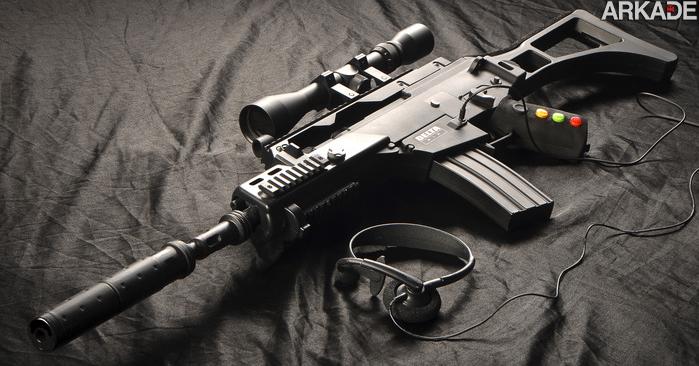 Delta Six: conheça o incrível controller-rifle que vai deixar seu FPS muito mais realista