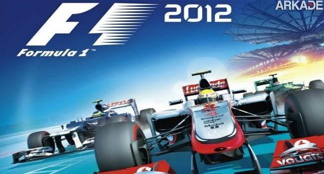 F1 2012 chega ao Brasil totalmente em português!