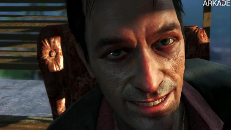 Far Cry 3: novo trailer apresenta Hoyt, mais um vilão psicótico