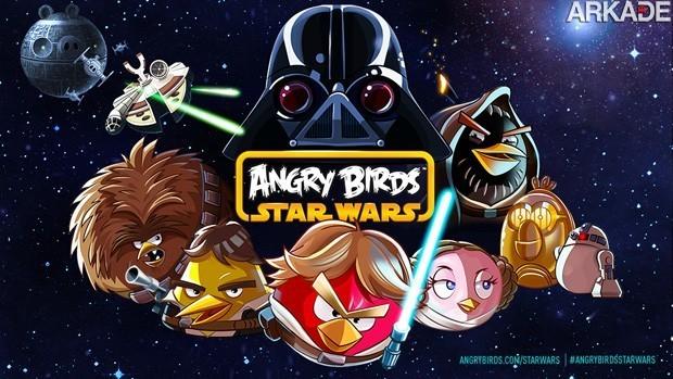 Angry Birds: Star Wars chega em 8 de novembro!