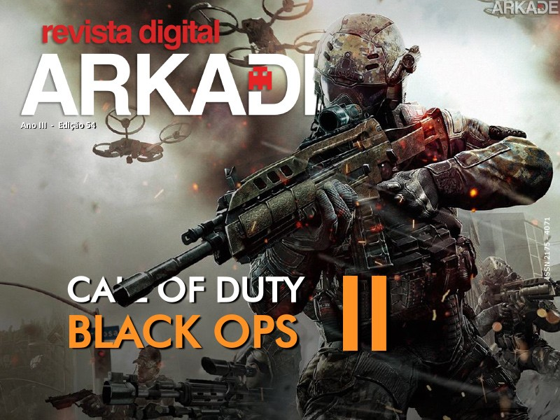 Revista Arkade #54 - Call of Duty: Black Ops 2