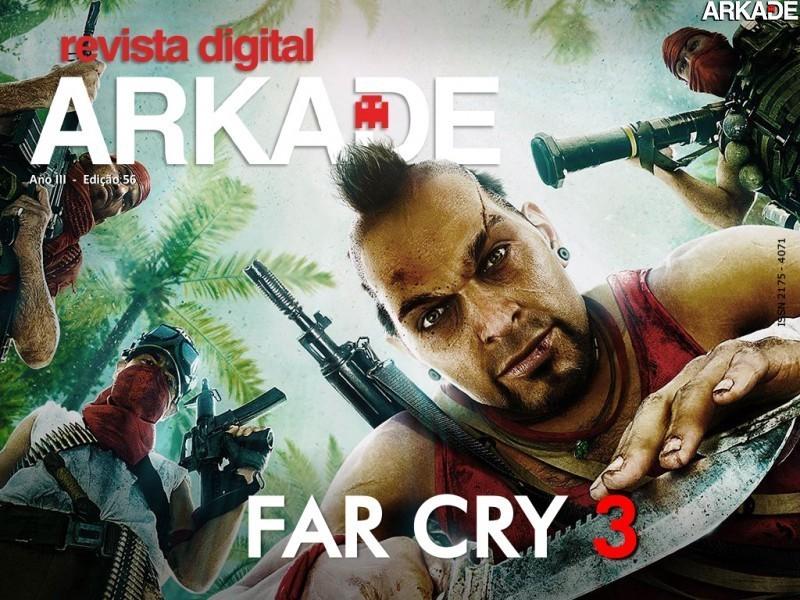 Revista Arkade #56 - A ilha paradisíaca de Far Cry 3
