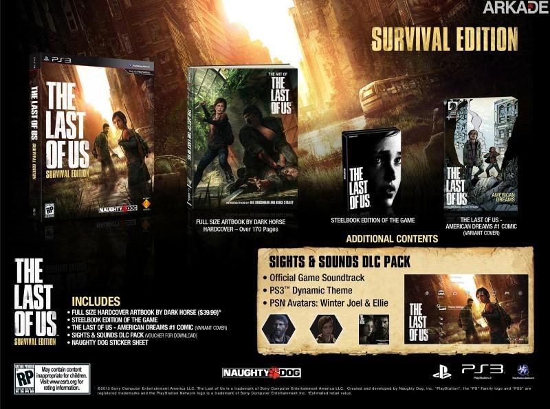 The Last of Us: Sony revela as (diversas) edições especiais do game