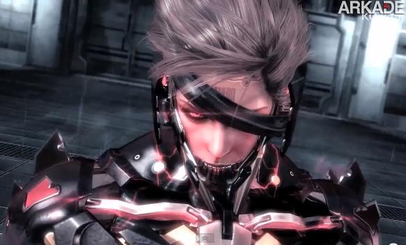 Metal Gear Rising: Revengeance ganha novo trailer psicótico e sangrento