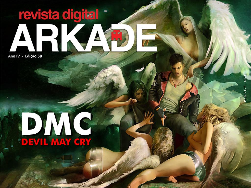 Revista Arkade #58 - DmC: Devil May Cry