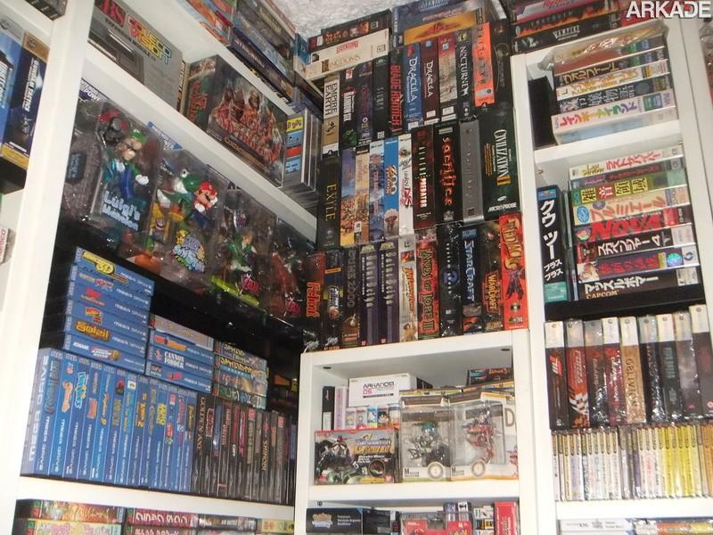 Gamer está leiloando incrível coleção que reúne 30 anos de história dos videogames