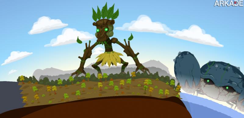 Reus: conheça um promissor god game indie com visual 2D caprichado