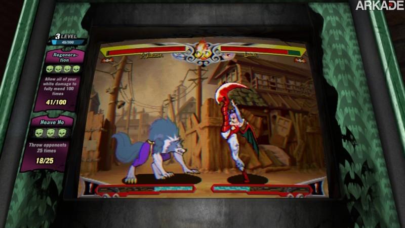 Análise Arkade - Darkstalkers Resurrection (PS3, X360): pancadaria nostálgica