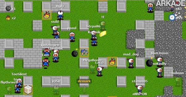 jogos online bomberman multiplayer