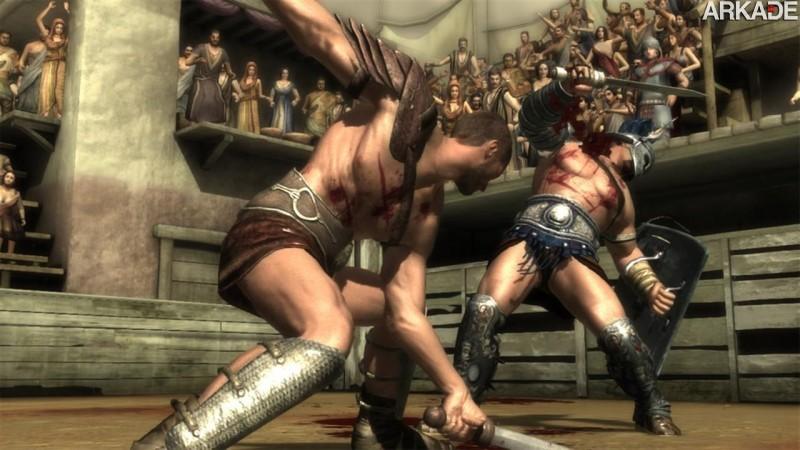 702861 Spartacus Legends: seriado de TV vai ganhar brutal game free to play, confira o trailer